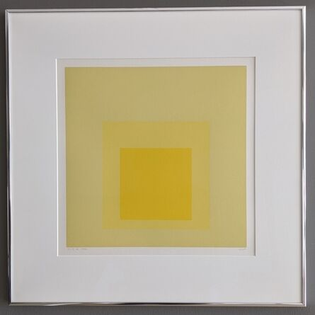 Josef Albers, 'I-S d, from Homage to the Square', 1969