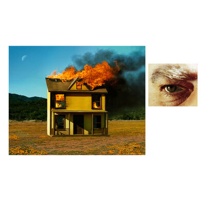 Alex Prager, '4:01pm, Sun Valley, from the series Compulsion & Eye #3 (House Fire)', 2012