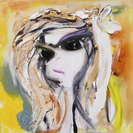 Lea Fisher, 'Self-Portrait Cool Table', ca. 2018