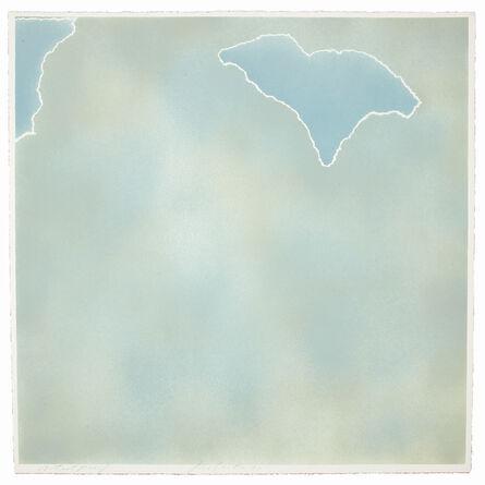 Joe Goode, 'Untitled (blue paper clouds)', 1971