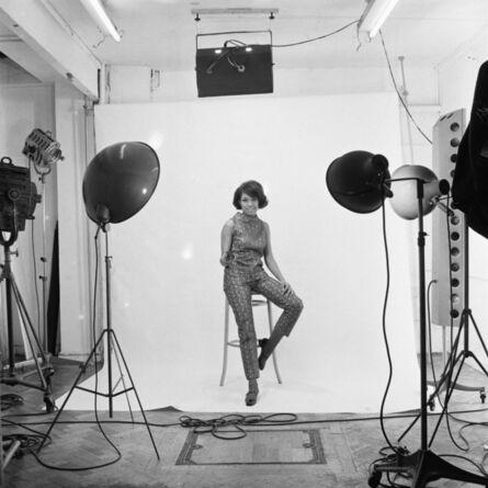 James Barnor, 'Erlin Ibreck photoshoot at Campbell-Drayton Studio in Gray's Inn road, London, c. 1966-1967', 2019