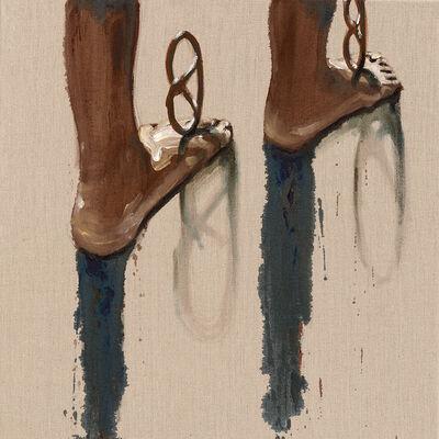 Marco Spitzar, 'Brezel, balance on the beach', 2016