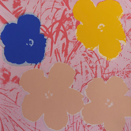 (after) Andy Warhol, 'Flowers 11.70', 1967 printed later