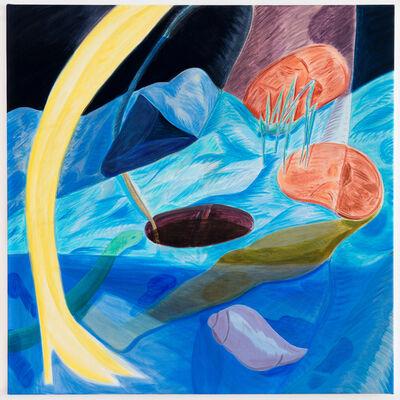 Anjuli Rathod, 'Blue Shell Blue Well', 2017