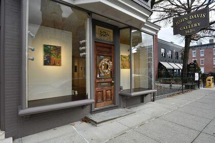 Pamela Cardwell, Painting, John Davis Gallery, Hudson, New York (photos Bill Massey)