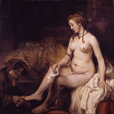Rembrandt van Rijn, 'Bathsheba', 1654