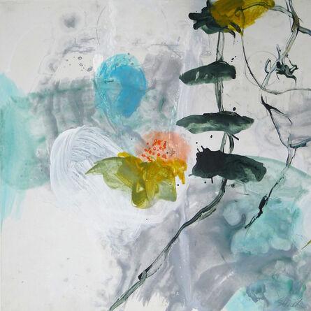 Allison Stewart, 'Aqua Flora #9'