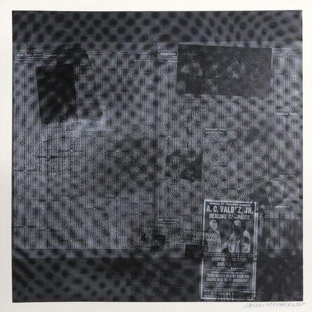 Robert Rauschenberg, 'Surfaces Series from Currents #51', 1970