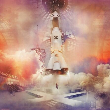 Simon Procter, 'Chanel Ultra Rocket, Fall/Winter 2017, Le Grand Palais, Paris', 2018