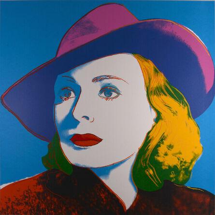 Andy Warhol, ' Ingrid Bergman : With Hat', 1983