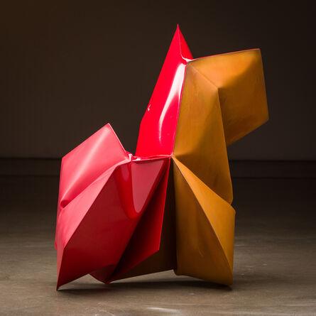 Jeremy Thomas, 'Sinopec Red', 2020