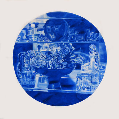 Kristina Bength, 'Cobalt; Ferromagnetic, Hexagonal, Close-Packed #11 ', 2017