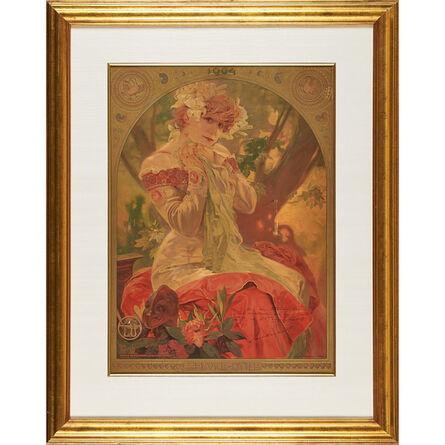 Alphonse Mucha, 'Lefèvre-Utile advertisement with Sarah Bernhardt as La Princesse Lointaine, France', 1904