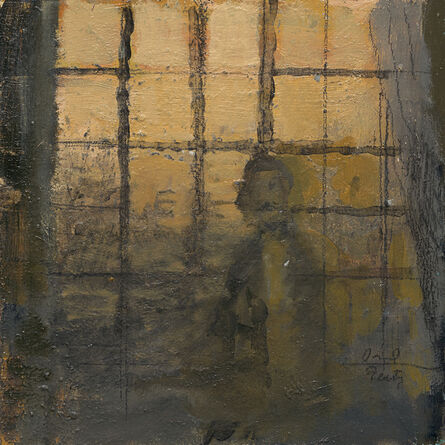 David Fertig, '54 Rue Notre Dame de Lorette, Delacroix Studio', 2014