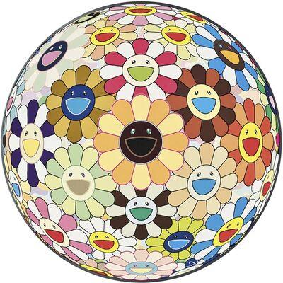 Takashi Murakami, 'Flower Ball (3D) Sunflower', 2011