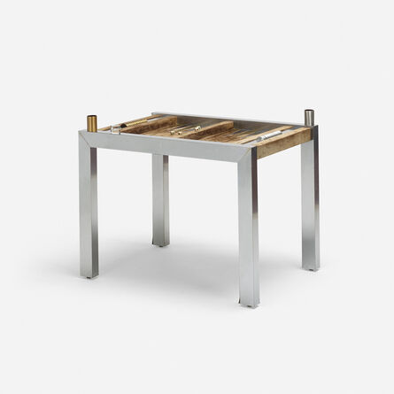 Paul Evans (1931-1987), 'Cityscape backgammon table, model PE 742 from the PE 800 series', 1978