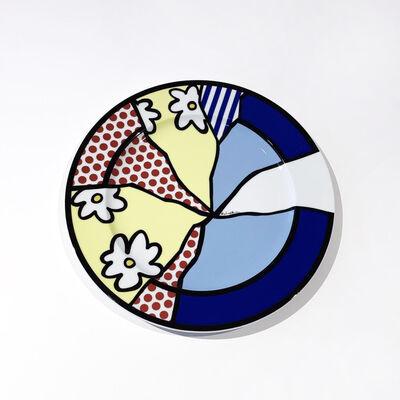 Roy Lichtenstein, 'Untitled Plate (Waterlily)', 1990