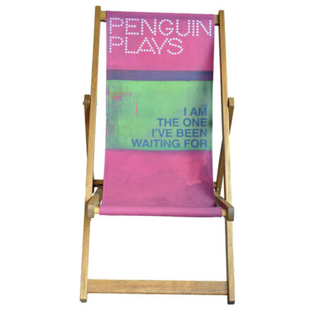 Harland Miller, 'I Am The One I've Been Waiting For', 2013