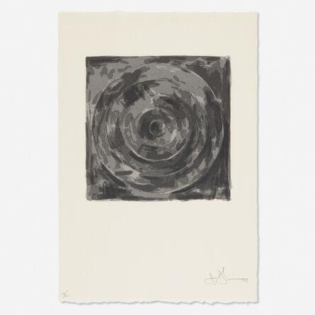 Jasper Johns, 'Target (from the For Meyer Schapiro portfolio)', 1973