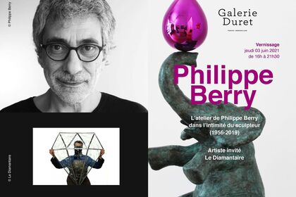 Philippe Berry's Workshop : in the intimacy of the sculptor 1956 -2019