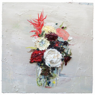 Allison Schulnik, 'Flowers for Visitor #3', 2006