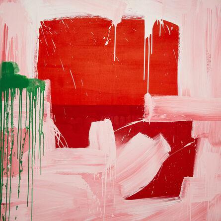Danny Davidson (b. 1976), 'Red White', 2019