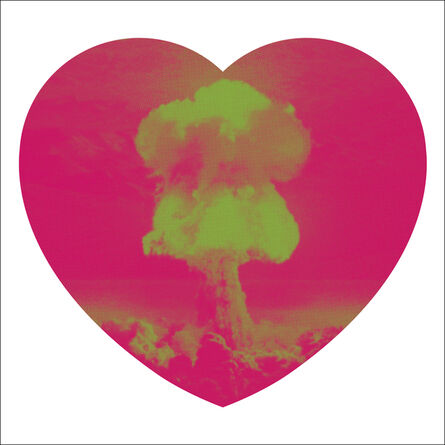 Iain Cadby, 'Love Bomb (Raspberry and Lime)', 2019