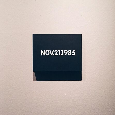 On Kawara, 'Nov. 21, 1985', 1985