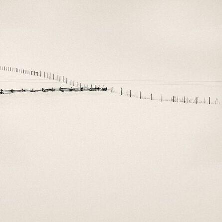 Peter Dusek, 'Fences Meet, Study 2', 2016