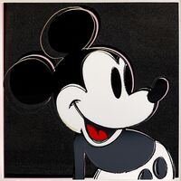 Andy Warhol, 'Mickey Mouse (from the Myths portfolio)', 1981