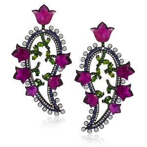 William Ehrlich, 'Paisley Earrings'
