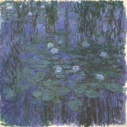 Claude Monet, 'Blue Water Lilies', 1916-1919