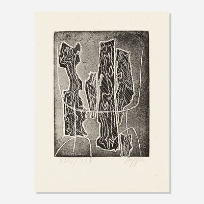 Roberto Crippa, 'Untitled II (from The International Avant-Garde, Vol. 1)', 1961