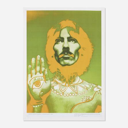 Richard Avedon, 'George Harrison poster', 1967