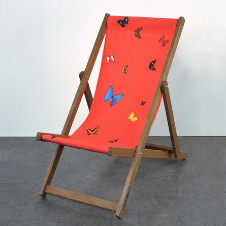 Damien Hirst, 'Deckchair (Red)', 2008