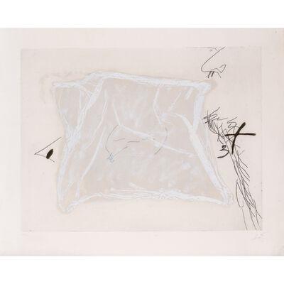 Antoni Tàpies, 'Mouchoir', 1971