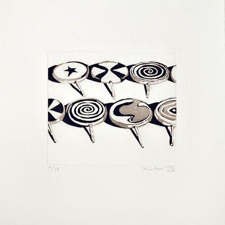 Wayne Thiebaud, 'Little Suckers', 1971