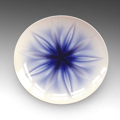 "Tokuda Yasokichi IV, 'Plate - Haruka ""In the Distance""', 2010"