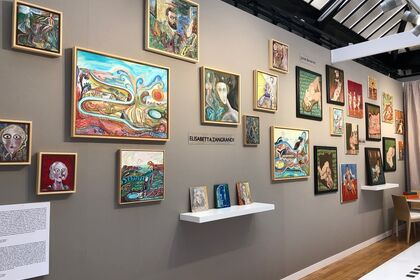James Barron Art at Outsider Art Fair Paris