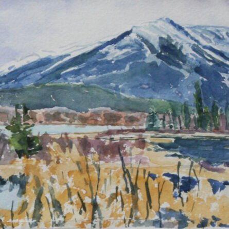 Dorothy Knowles, 'In the Shadow of the Mountain'