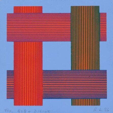 Richard Anuszkiewicz, 'Translumina', 1986