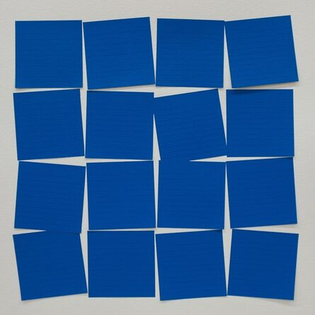 Mauro Piva, 'Post-itesquema (Azul)', 2015