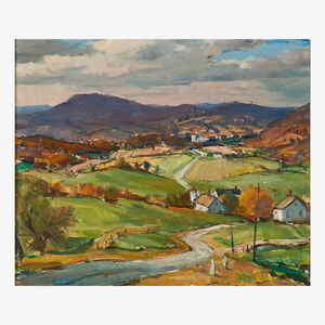 Carl Peters, 'The Genesee Valley'