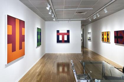 Karl Benjamin: Alphabet Paintings