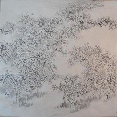 yoonsaing baik, 'Spring Wind', 2014