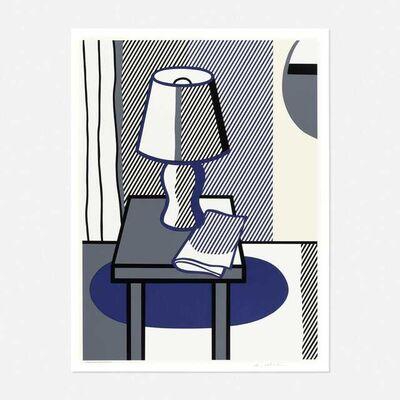 Roy Lichtenstein, 'Roy Lichtenstein 'Still Life with Table Lamp' 1988 Screenprint ', 1988