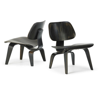 Charles Eames, 'Pair of LCWS, Zeeland, MI', 1940s