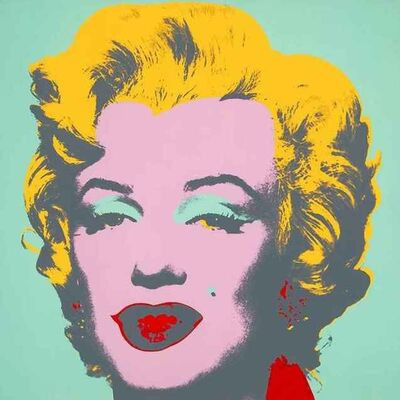Andy Warhol, 'Green and Pink Marilyn 11.23', 1970