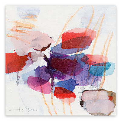 Greet Helsen, 'Color spots II (Abstract Expressionism painting)', 2014