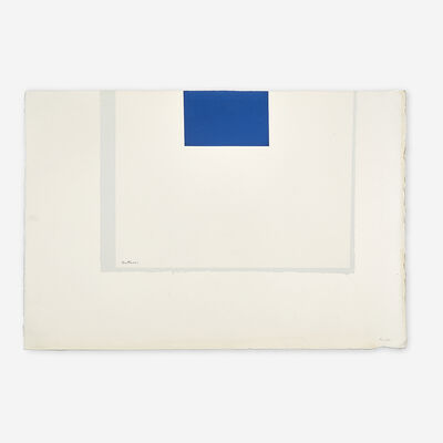 Robert Motherwell, 'London Series II,  Five Prints', 1970-71